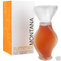 Montana Perfume Skin Summer Edition Edt 100ml Spray Blister Pack