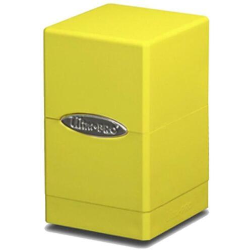 Ultra Pro Satin Tower Deckbox für Sammelkarten TCGs wie Pokemon MtG Yugioh