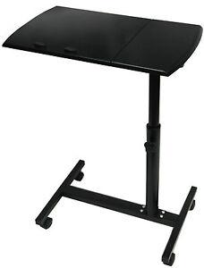 En bois Ordinateur Portable Table Pliante Support de bureau de chevet étude réglable  </span>