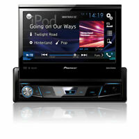 Pioneer Avh-x7800bt 1-din Bluetooth Dvd Receiver 7 Flip-out Touchscreen Display