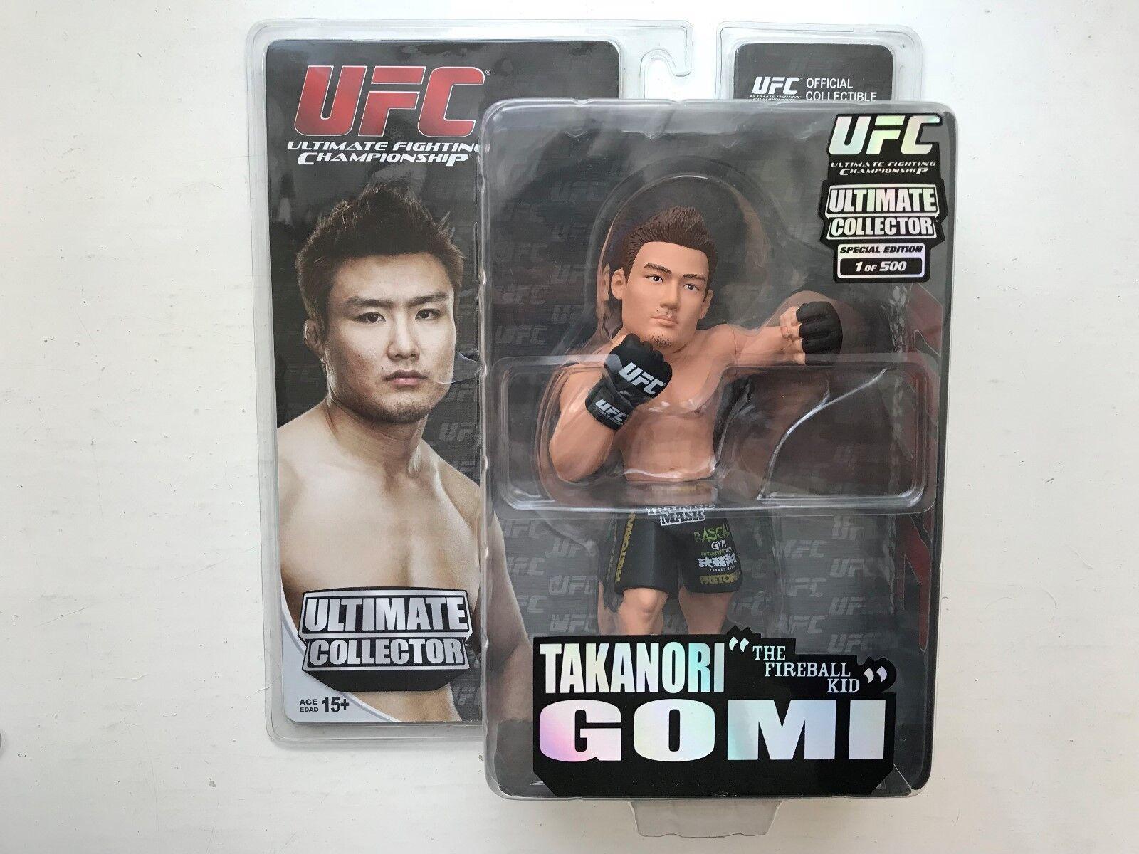 BNIB UFC ROUND 5 TAKANORI GOMI ULTIMATE COLLECTOR SERIES FIGURE LIMITED EDITION