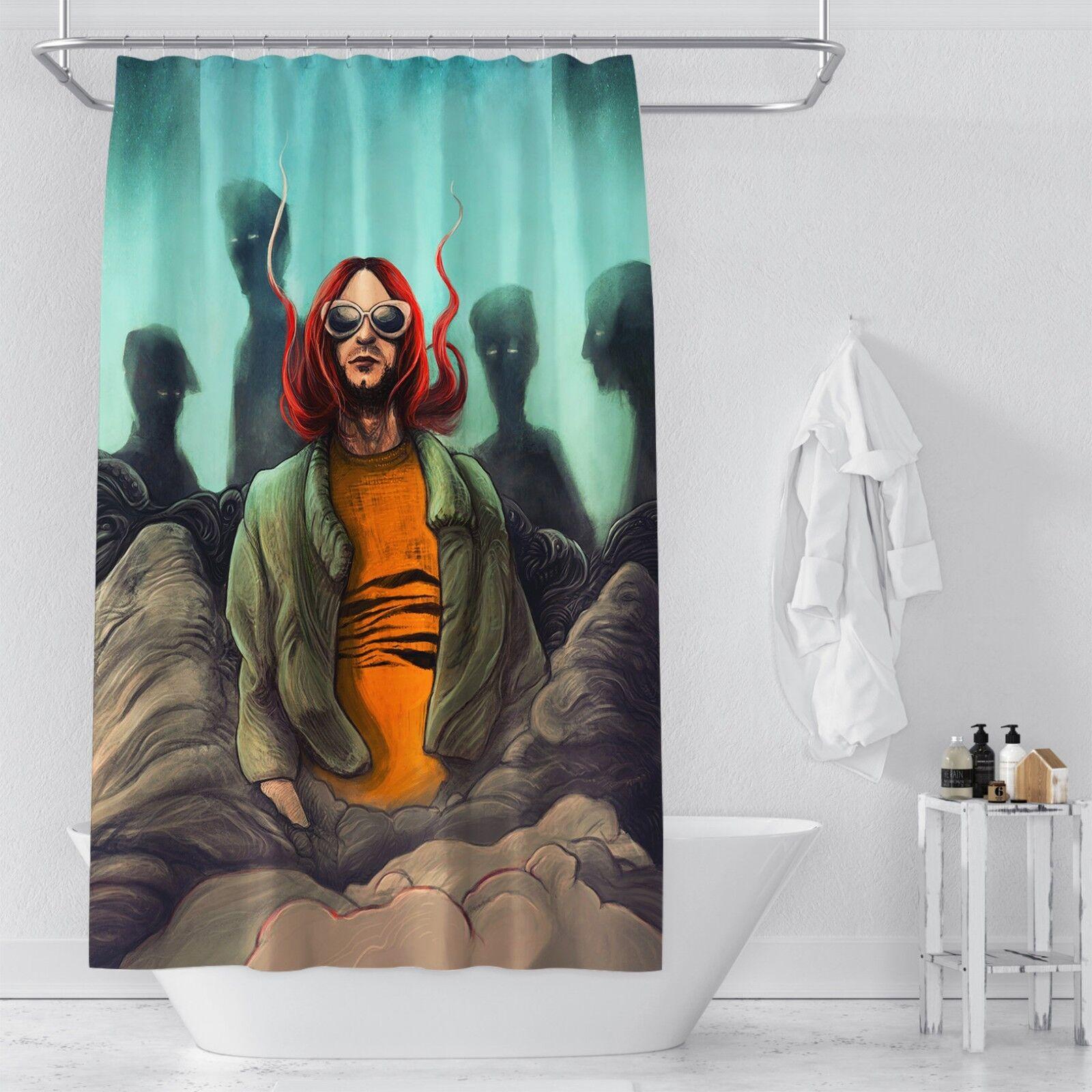 3D Mann Malerei 33 Duschvorhang Wasserdicht Faser Bad Daheim Daheim Daheim Windows Toilette DE | Lebensecht  c8823c