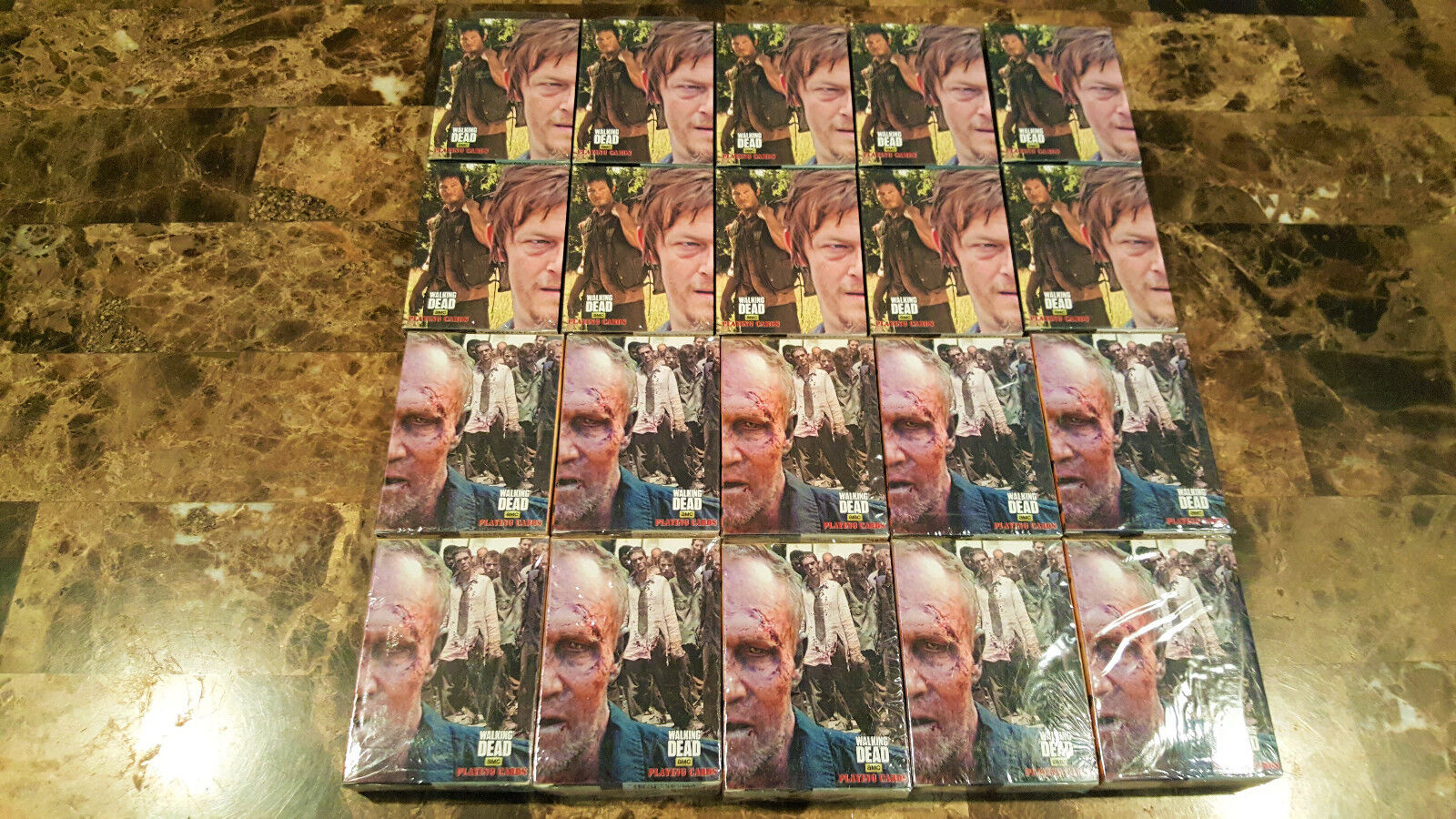 The walking dead, Daryl & Merle dixon 20 SETS of playing cards, brand new sealed