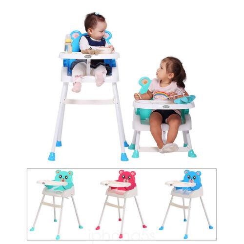 4 in1 Klappbar Baby Essstuhl Sitzerhöhung Kinderhochstuhl Treppenhochstuhl DE