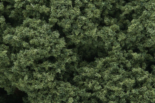 Medium Green. Foliage Clusters Woodland Scenics FC58