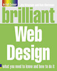Brilliant Web Design by Joe E. Kraynak (Paperback, 2010)