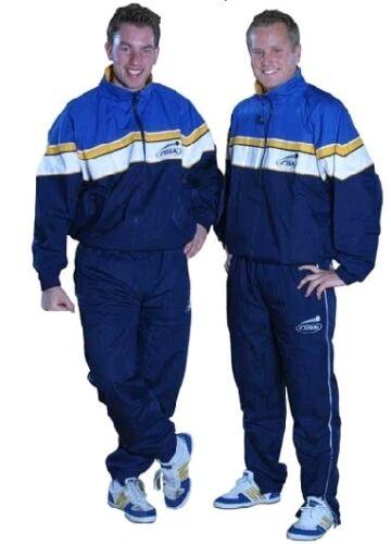Gr S oder M Stiga  Trainingsanzug Svenska royal/gelb/weiß neu XS