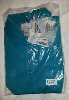 In Package Only Necessities Size 1x Polo Tunic Shirt Green Cotton/polyester