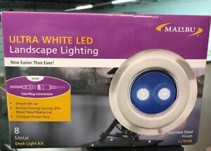 16 Malibu Deck Lights Low Voltage Led Path Pack 2