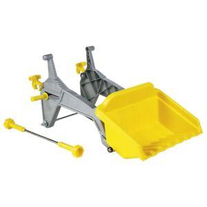 Rolly Toys Holzgreifer-Anbausatz Greifer Holzzange gelb Kinderfahrzeuge