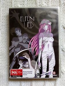 ELFEN LIED - VECTOR 3- DVD - R-4, LIKE NEW, FREE POST WITHIN AUSTRALIA