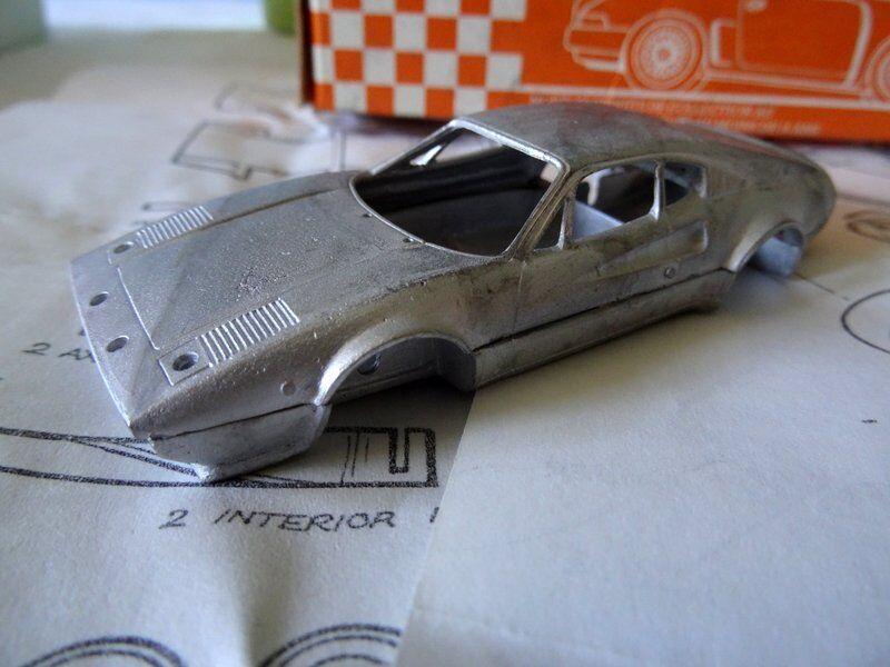 Ferrari 308GTB San Remo Rally Rally Rally Grand Prix Models Serie'78 White Metal kit 1 43 7d5435