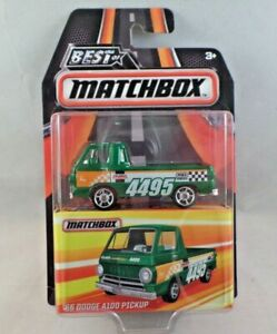 Matchbox 2016 Best Of /'66 Dodge A100 Pickup Real Riders