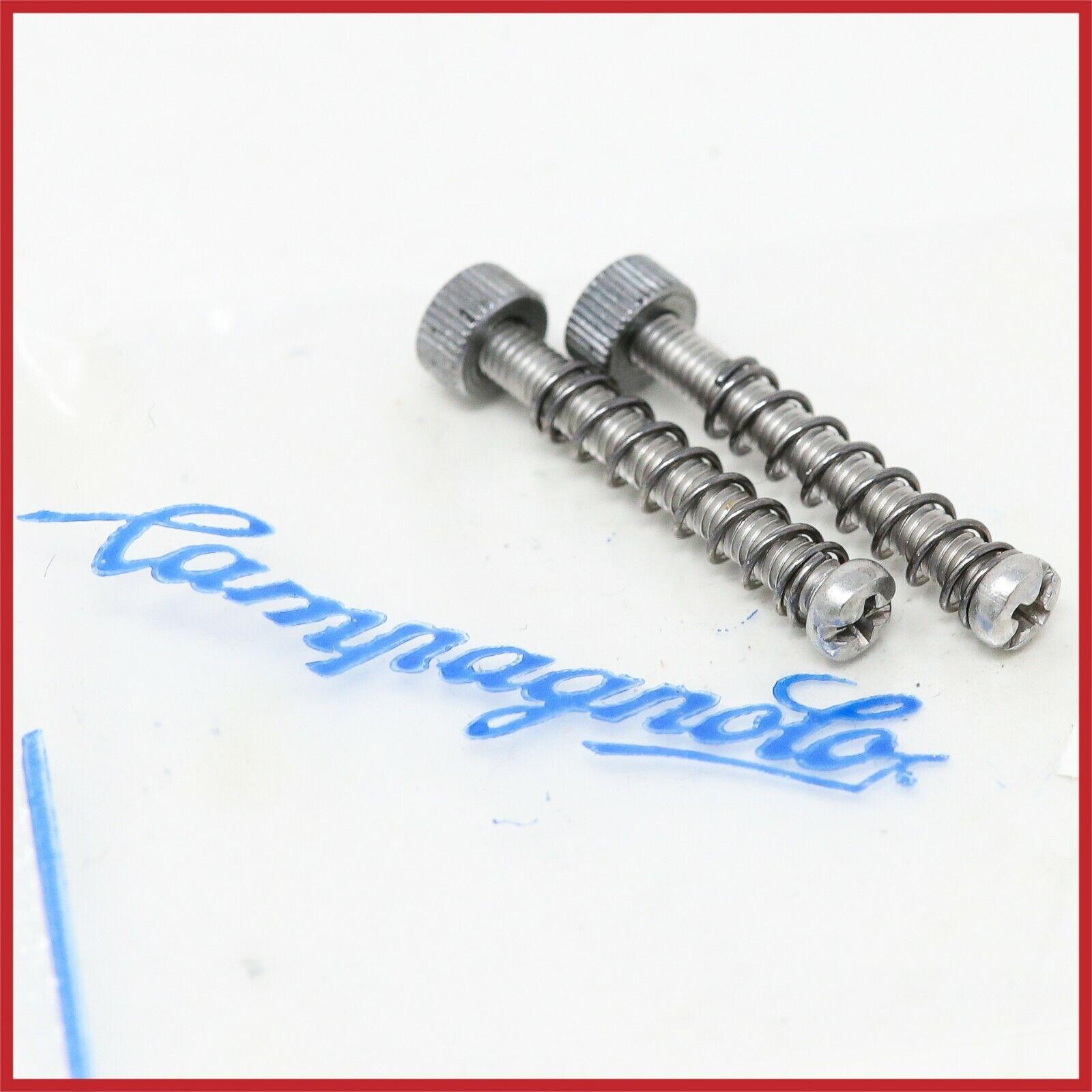 NOS CAMPAGNOLO REAR DROPOUTS 3mm SCREWS REGISTER ADJUSTER VINTAGE 70s 80s FRAME