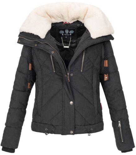Trapuntata Giacca Designer Pelliccia Ladies Teddy Navahoo Invernale Caldo B605 qpg4wC