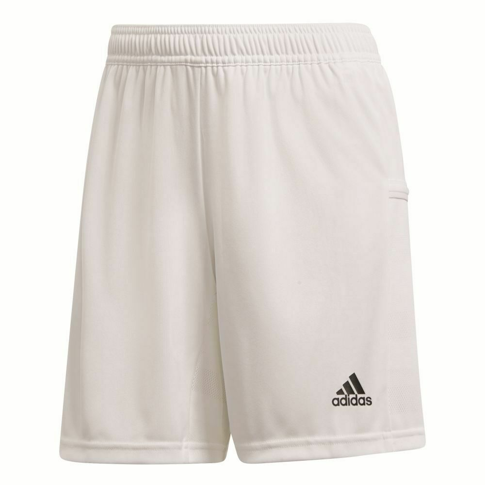 Adidas Team 19 Womens Ladies Sports Training Knit Shorts White