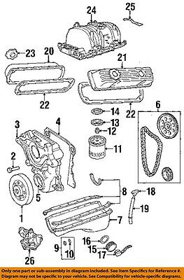 dodge chrysler oem 97-02 dakota 3.9l-v6 engine-intake manifold gasket  4897382ad | ebay  ebay