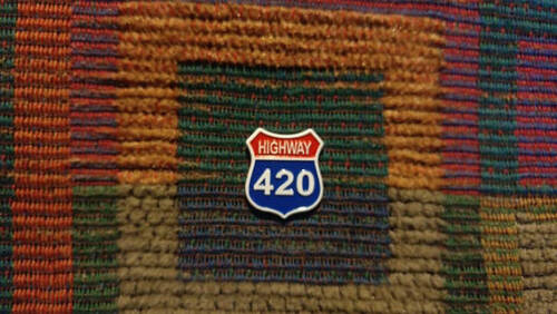 10 Pack US Highway 420 Street Sign Medical 420 710 Dabs Enamel Lapel Hat Pin Lot