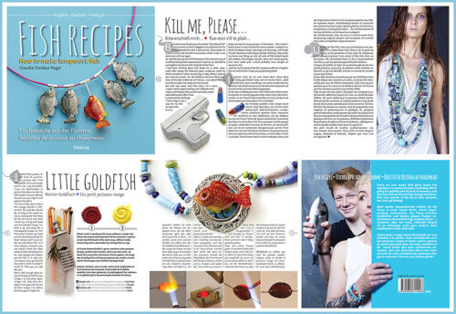 How To Make Lampwork Fish FISH RECIPES von Claudia Trimbur-Pagel