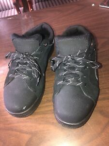 Maria Steel Toe Work Shoes Black Size