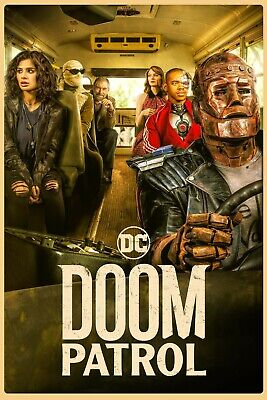 Doom Patrol TV Series 2019 Art Silk Canvas Poster 3 Wall Art Print 24x36 inch