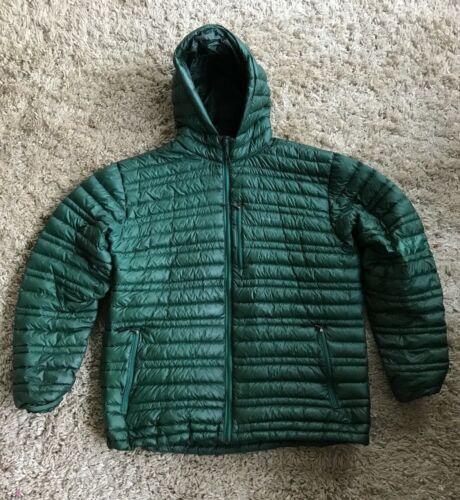 Patagonia Down Sweater Hoody XL Green