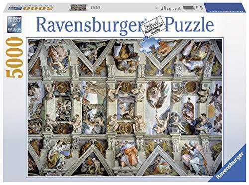 Ravensburger  Puzzle  in autotone Cappella Sistina, 5000 Pezzi 17429 (V0p)  grandi prezzi scontati