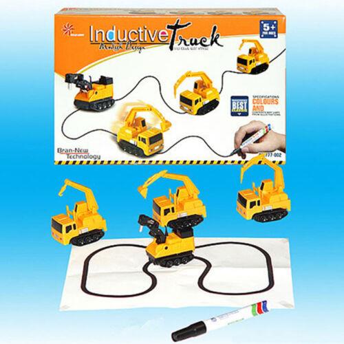 Mini Magic Toy Truck Children/'s Inductive Vehicles Pen Draw Lines Truck Tank Car