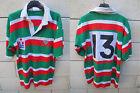 VINTAGE Maillot rugby COLMAR porté n°13 HALBRO match worn shirt années 80 40 in
