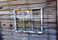 VINTAGE SASH ANTIQUE WOOD WINDOW PICTURE FRAME PINTEREST WEDDING 6 PANE SHABBY