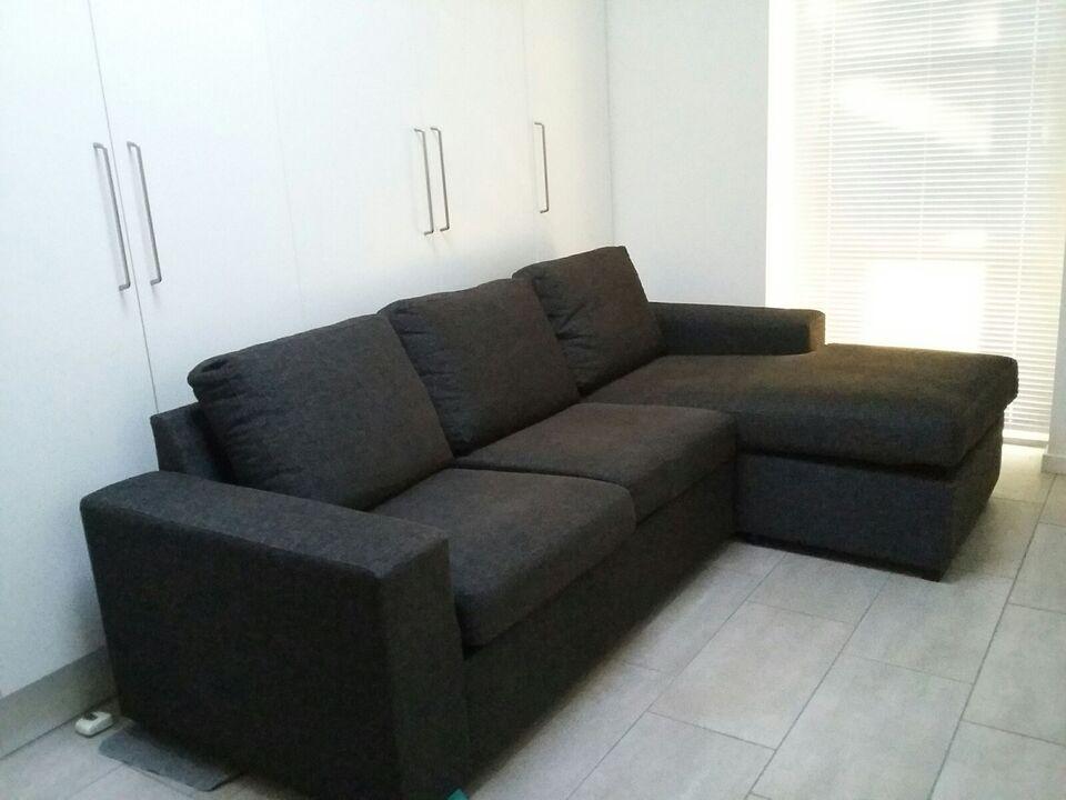 Sofa, stof, 3 pers.