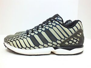 adidas originals zx flux xeno men s running shoes navy black white rh ebay com
