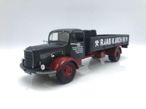 Mercedes L 325 Raab Karcher mit Ladegut - 1:43 IXO   NEW   SALE OUT PRICE