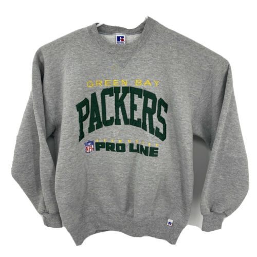 VTG 80's Russell Athletic XL Russell Green Bay Pa… - image 1