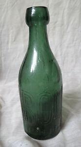 ANTIQUE-ROUSSEL-TEAL-GREEN-SODA-BOTTLE-PONTIL-PHILADELPHIA-1840-039-s