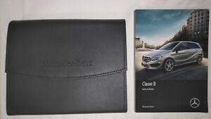 Manuel Notice Utilisation Mercedes Classe B Edition 2017 Pochette Cadeau