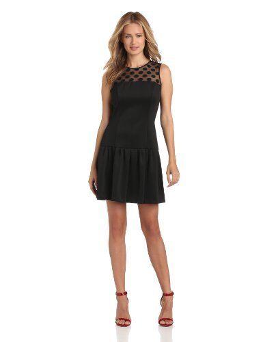 Eliza J Size 6 Women's Shift Dress With Lace Lace Lace Bodice c25305