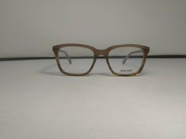 NEW Nine West NW5087 245 51mm Brown Horn Gradient Optical Eyeglasses Frames