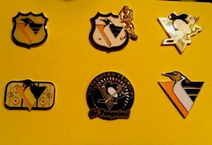 Pittsburgh Penguins 6 Pin Lot Accept No Offers Ship Usa Only Bin Free Shipping Ebay