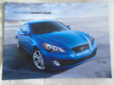 Hyundai Genesis Coupe brochure 2011 USA market