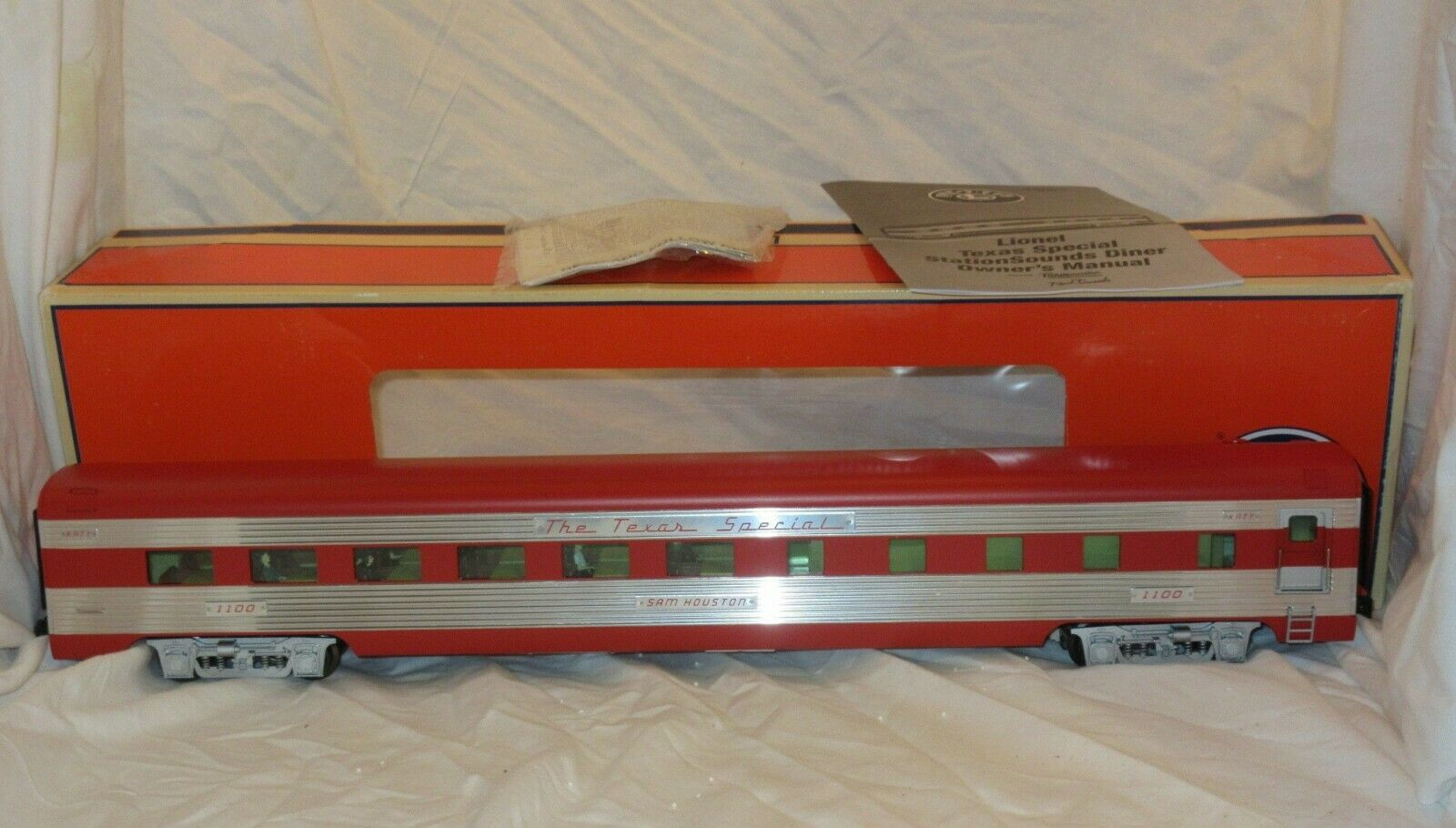 Lionel Texas Special O Gauge StationSounds Dining Car