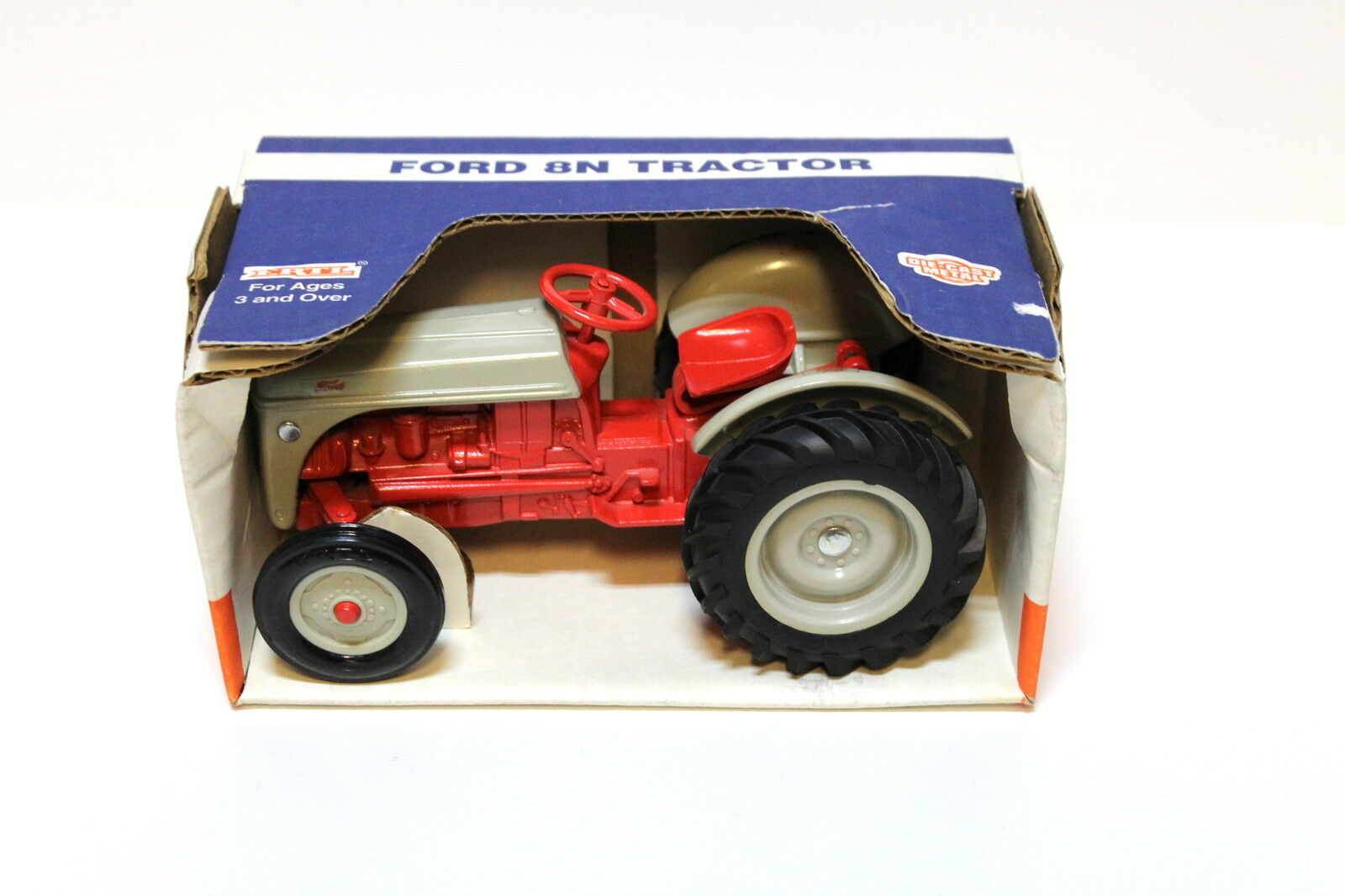 1 16 ERTL  Ford 8n Tractor gris rouge nouveau in Premium-modelvoitures  à la mode