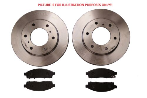 Front Brake Discs+Pads 291mm For Toyota Hilux Surf KZ130 3.0TD 08//1993-11//1995