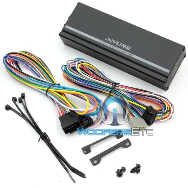 Miraculous Alpine Ktp 445 Car Amp For Sale Online Ebay Wiring Digital Resources Funapmognl