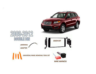 Fits 2001-2006 HYUNDAI SANTA FE CAR STEREO DOUBLE DIN INSTALL KIT
