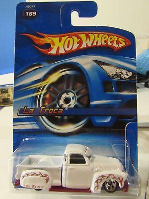 White 2005 Hot Wheels LA TROCA #169