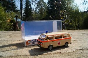 Herpa-VW-t3-BUS-AMBULANZA-034-Dortmund-034-927918-1-87-Exclusiv-OVP