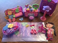 CABBAGE PATCH KIDS lil sprouts BEDROOM FURNITURE over 26 pieces NEW not in box
