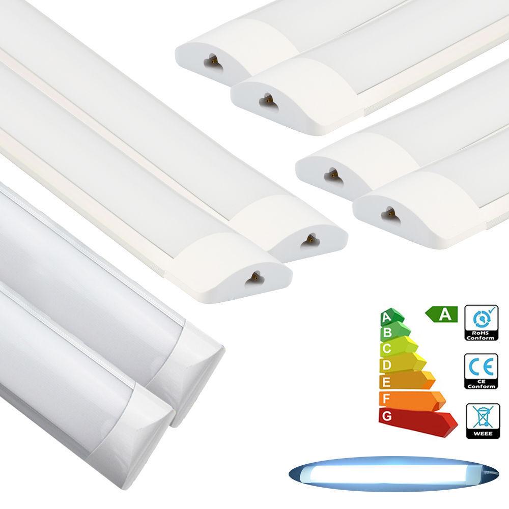 10 6 4 2x 2ft 3ft 4ft LED Tube Light Linkable Surface Mount Suspended Panel Lamp