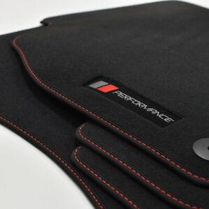 MP Velour Logo PB Fußmatten passend für Audi A3 8V 3-trg ab Bj.2012 Vbr